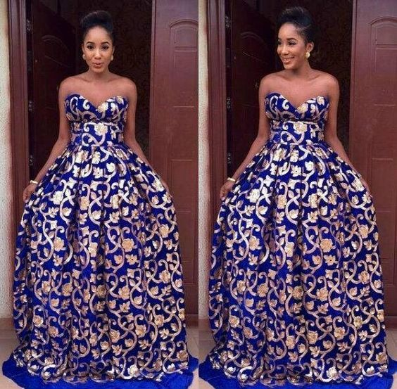 Top Ten Beautiful Nigerian Prom Dresses And Evening Dresses | Top ...