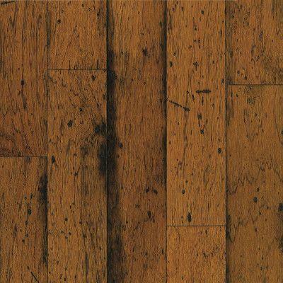 Bruce Flooring American Originals 5 Engineered Hickory Hardwood In Sunset Sand