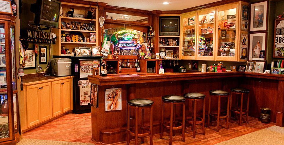 Custom Wet Bar - Basement | basement | Pinterest ...