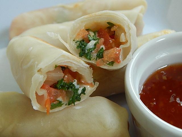 Bruschetta rolls - Drizzle Me Skinny!