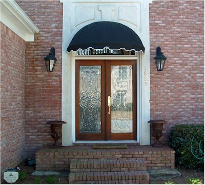 5u0027 EasyAwn Dome Canvas Window or Door Awning Canopy : home awnings canopy - memphite.com