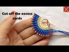 Photo of Macrame necklace tutorial – the simple En eventail pattern – clearly guide