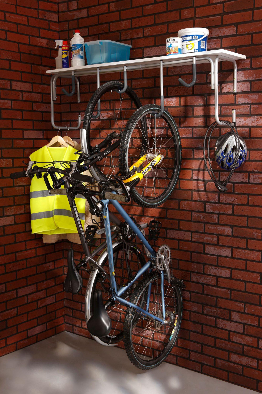 Aménagement garage : le ranger et l'optimiser | Range velo, Rangement vélo garage et Support à ...