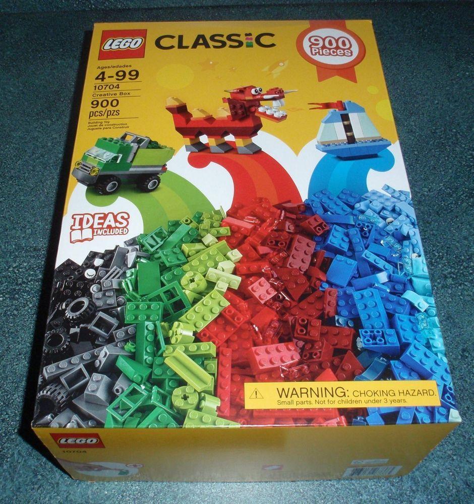 62322fbb0da NEW 2017 Lego Classic Creative Box Set  10704 900 Pieces - GREAT CHRISTMAS  GIFT!  Lego