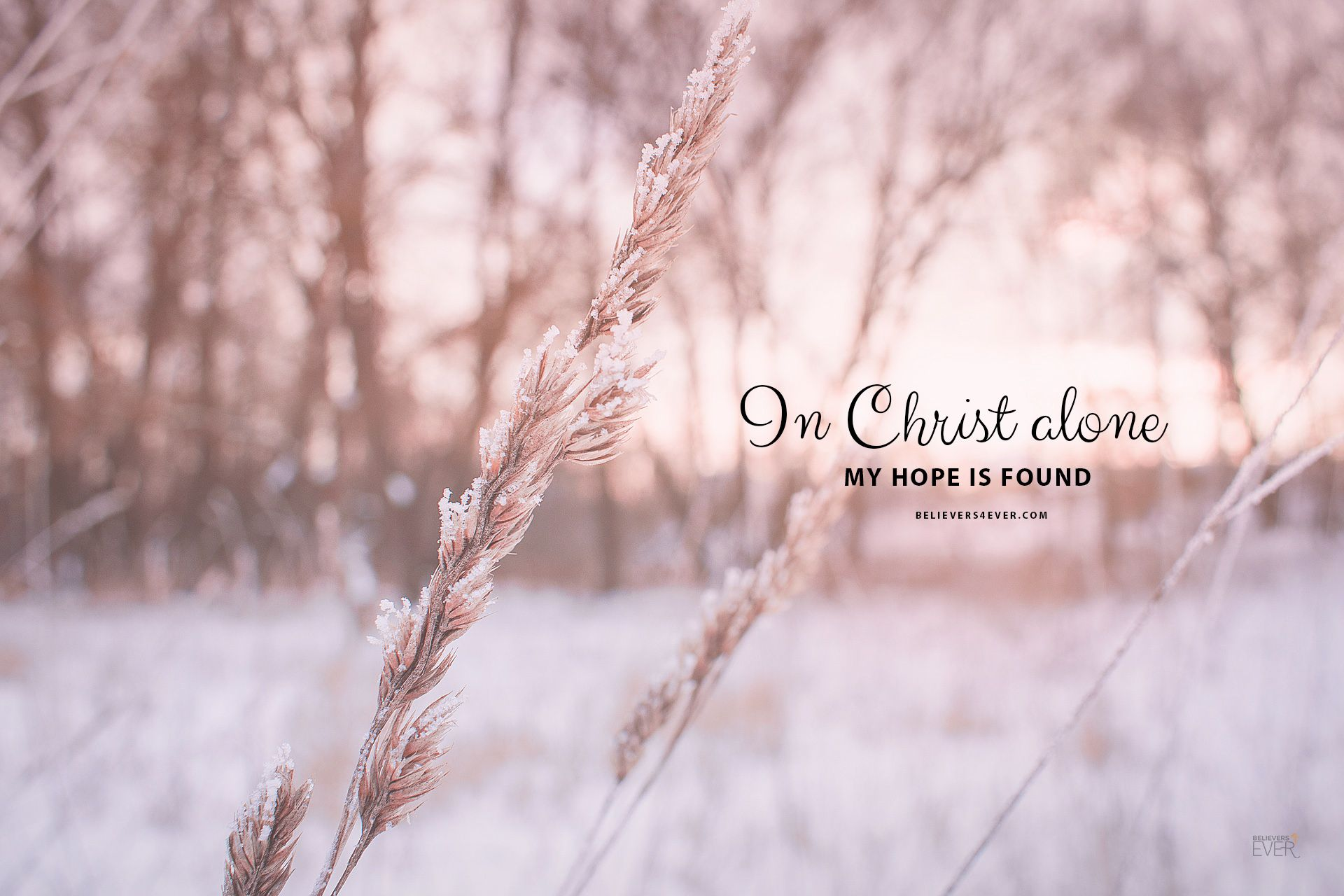 In Christ Alone My Hope Is Found Believers4ever Com Christian Wallpaper Bible Verse Desktop Wallpaper Bible Quotes Wallpaper