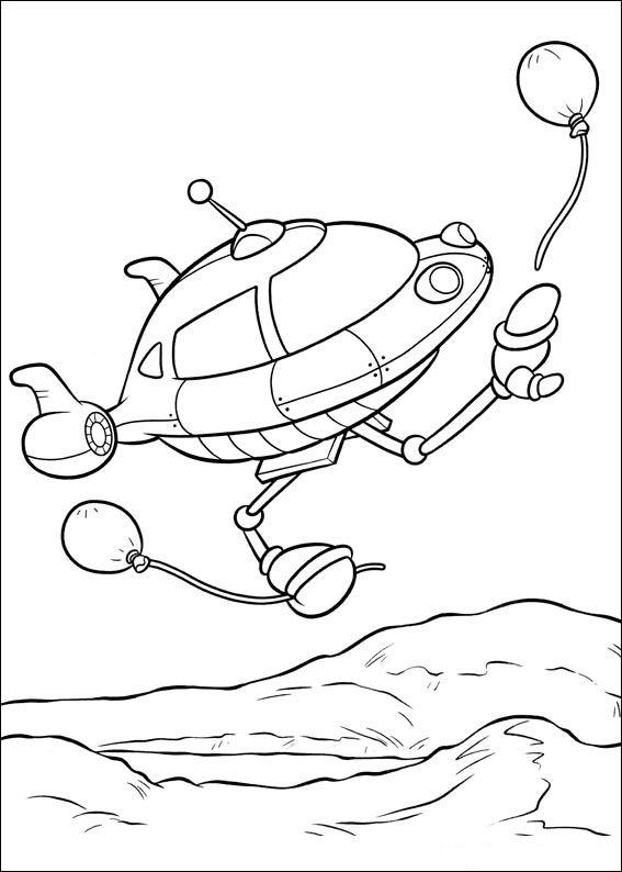 Dibujos para Colorear Mini Einsteins 34 | Dibujos para colorear para ...