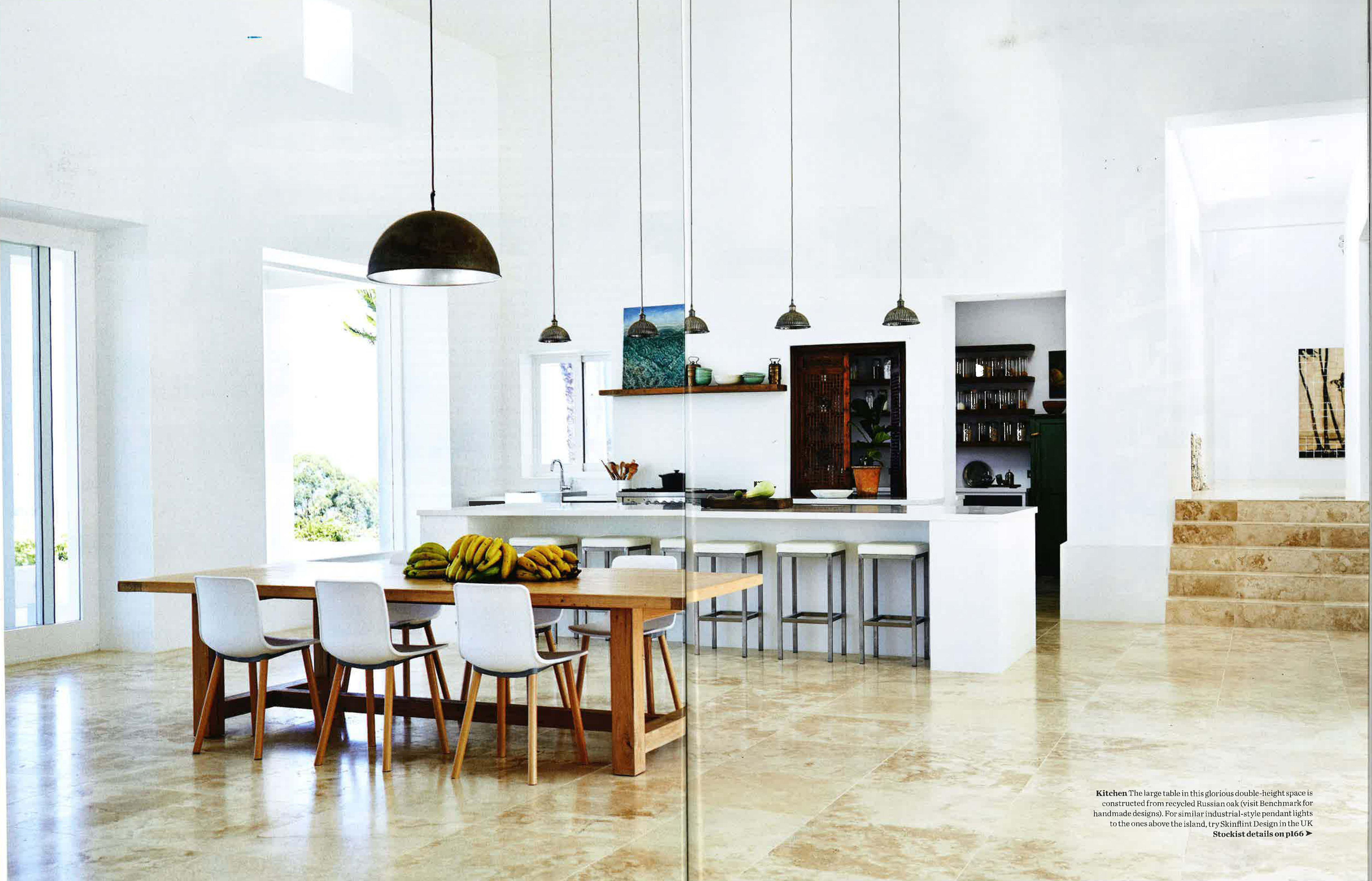 Genola De Jong And Simon Fitzpatrick S Byron Bay Home Elle  # Muebles Simon Marbella