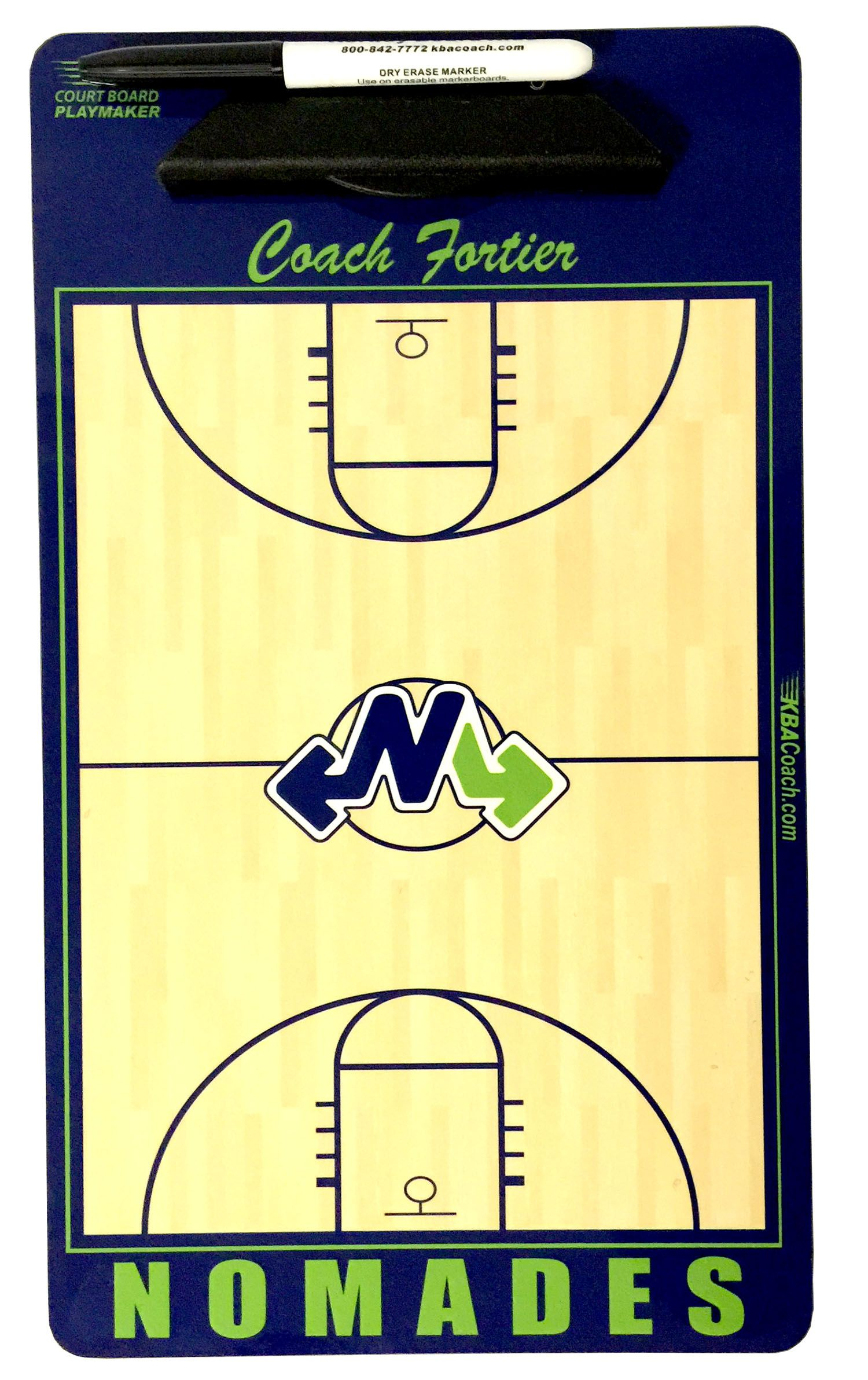 5ec0034e6ea Custom basketball clipboard with a dry erase finish. Customize with team  colors, team name and personalize too. Great for a coaches gift.