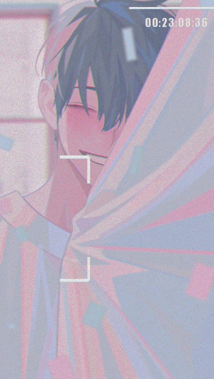 Cute anime wallpaper phone boy