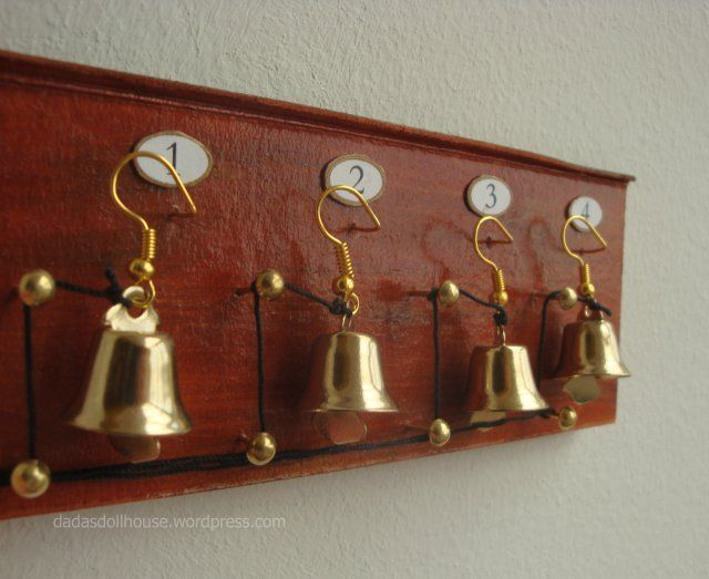 how to: servant's bell board
