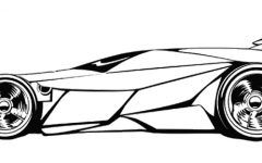 Lovely Print Drag Car Coloring Pages Ideas