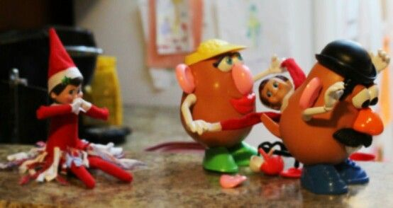 The elves watched too many Toy Story outtakes... Day 5