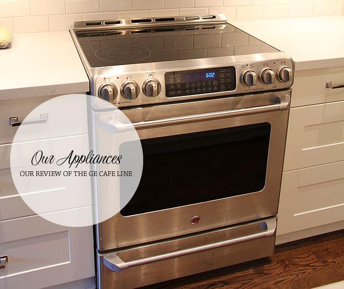 Beau Aubrey U0026 Lindsayu0027s Little House Blog: Kitchen Appliances // GE Cafe Line