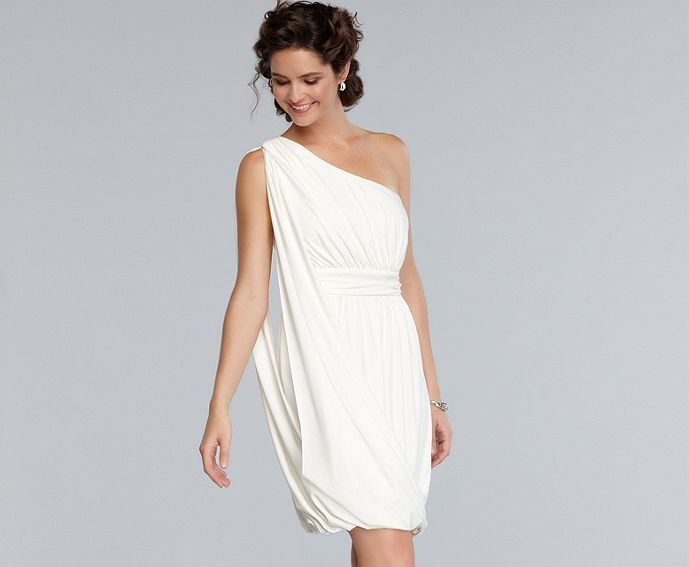Roman Goddess Inspired Cocktail Dress Showers Cocktail Parties