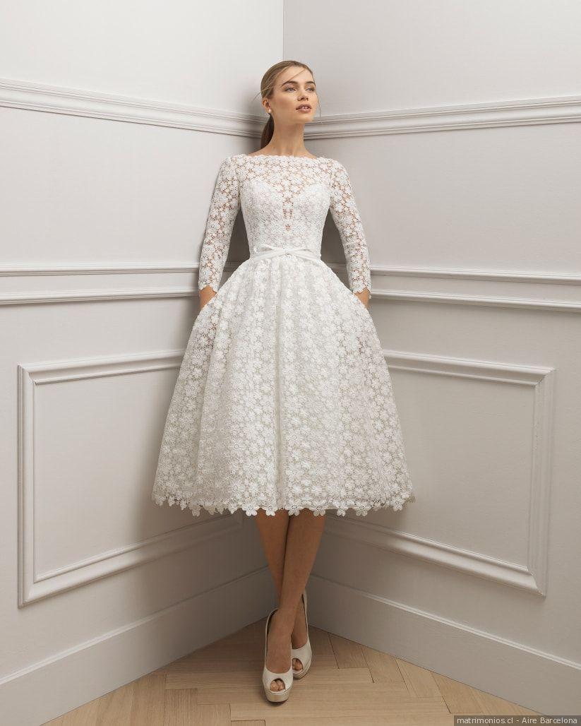 ccaca68c0cbc 110 vestidos de novia con encaje que te enamorarán | Traje sastre ...