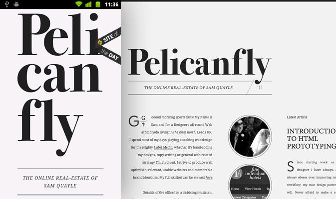 Pelicanfly  Media Queries+HTML5