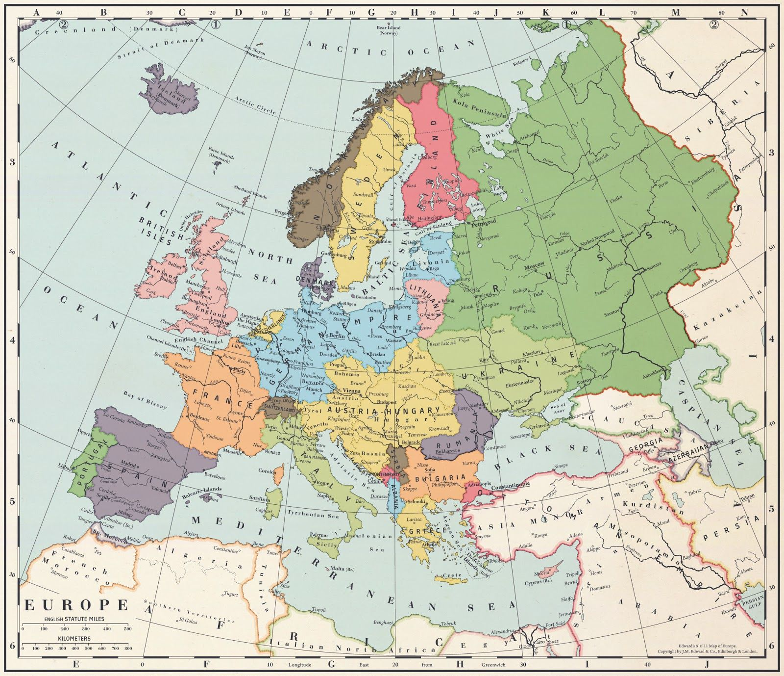 Alternate History Weekly Update Map Monday Europe After A - Map of america after louisiana purchase