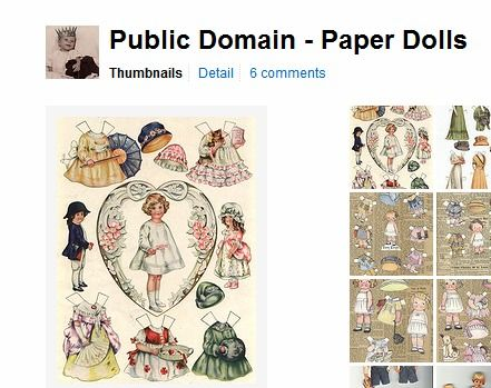 Public Domain Paper Dolls Paper Dolls Paper Doll Template Vintage Paper Doll