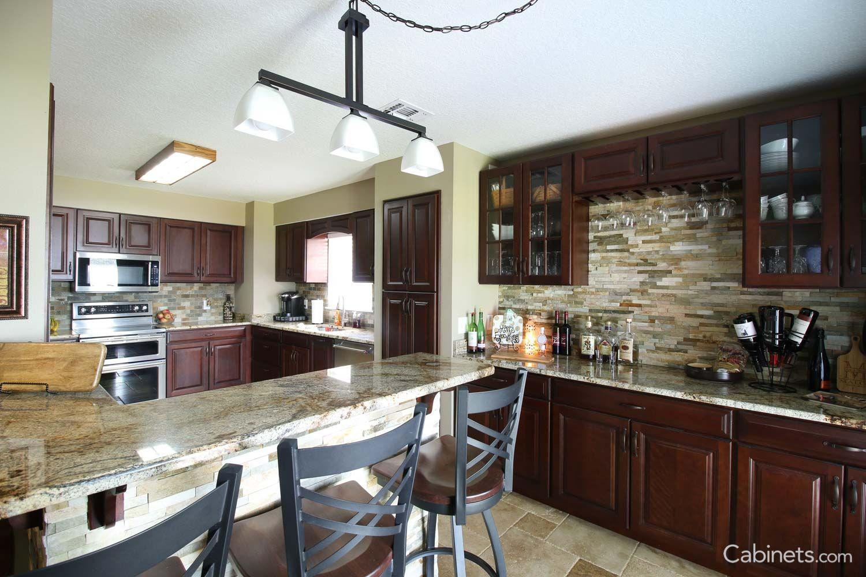 Jupiter Cherry Java Coffee Glaze Kitchen Remodel Home Kitchen