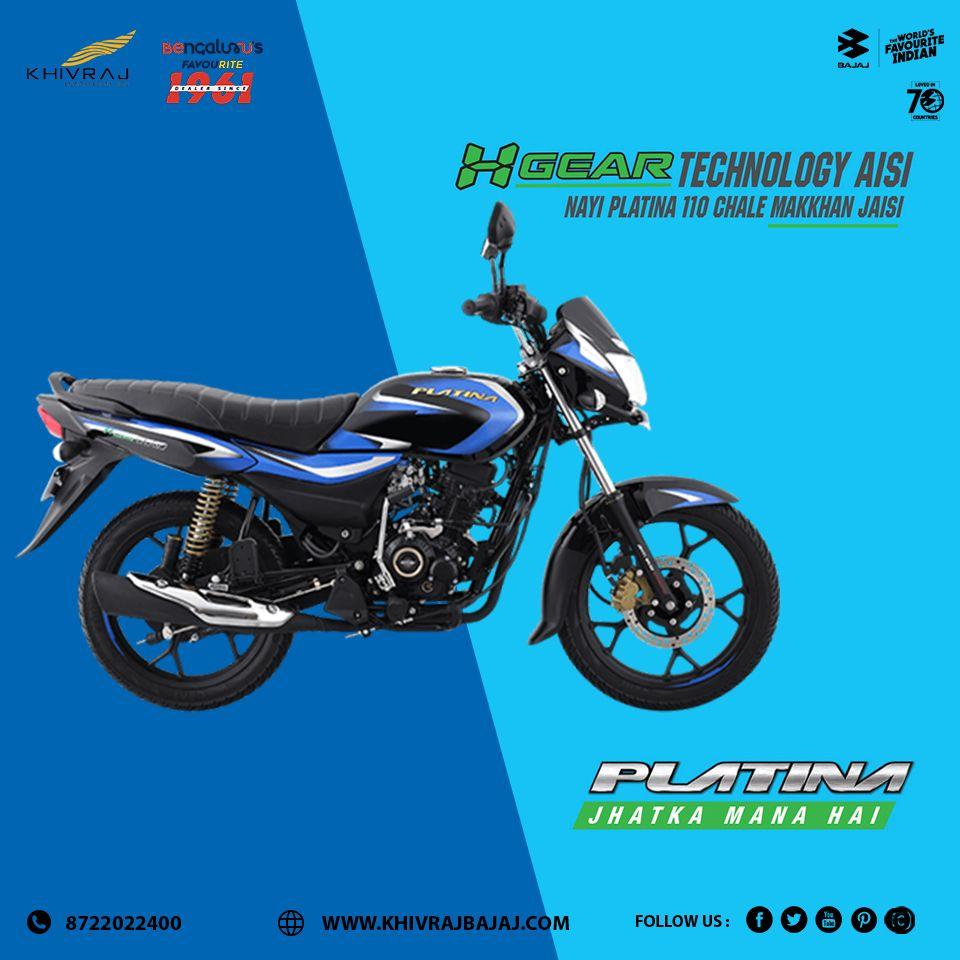 Platina H Gear Jhatka Mana Hai Khivraj Bajaj Biker Life Adventure Sports Bike