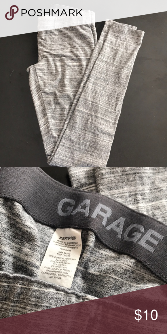 0bfb7e8b388e89 Garage Leggings Garage leggings. Worn once and in perfect condition. No  flaws or stains