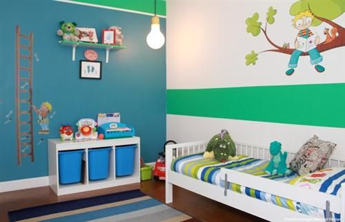 Colores para los dormitorios de ni os varones ideas - Decoracion de habitaciones de bebes varones ...