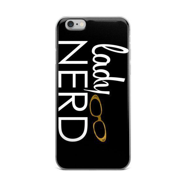 Lady Nerd iPhone Case