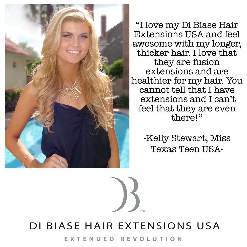 Miss Texas Teen Usas Testimonial On Di Biase Hair Extensions Usa