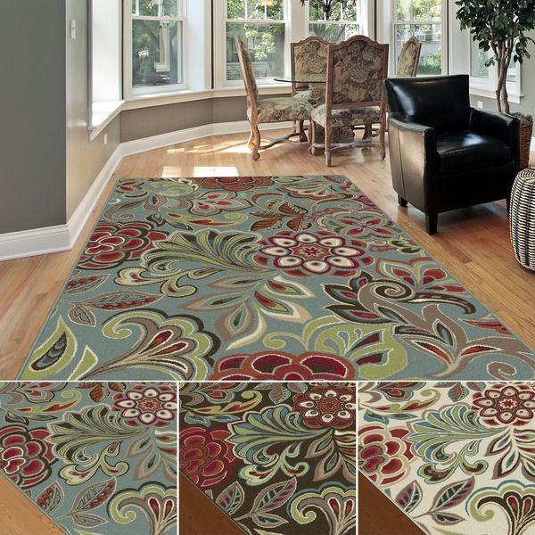 alise decora transitional area rug (7'10 x 10'3) (ivory