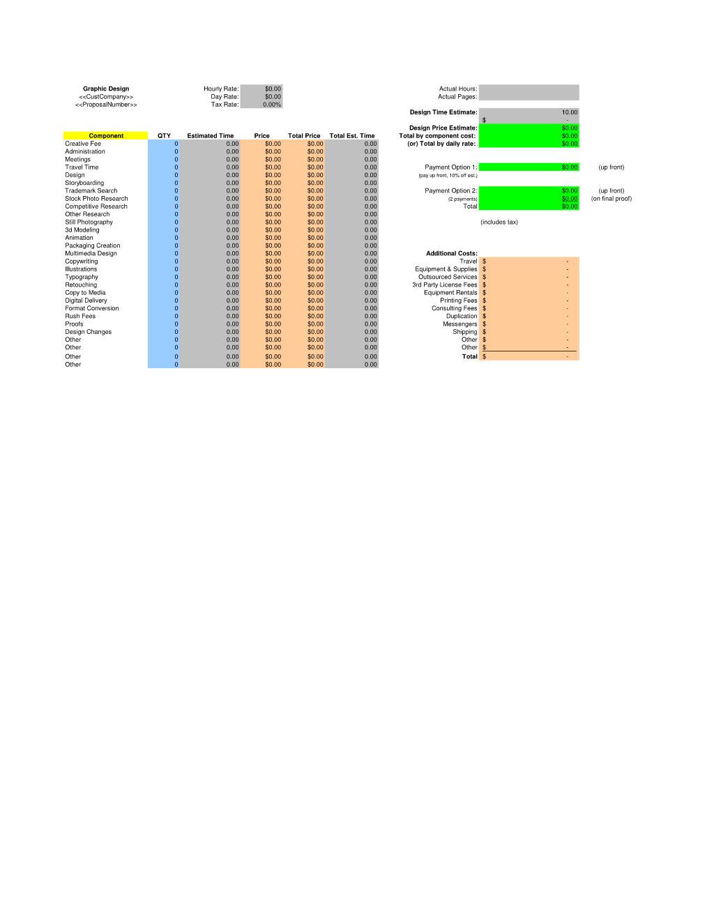 estimate spreadsheet - Ataum berglauf-verband com