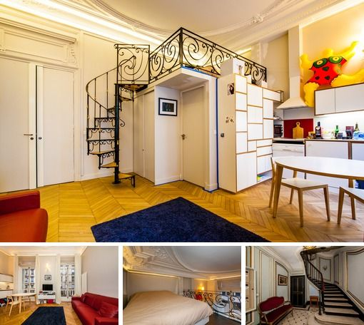Original Furnished Studio Apartment For Rent In The 8th Arrondist Of Paris On Rue De Liege