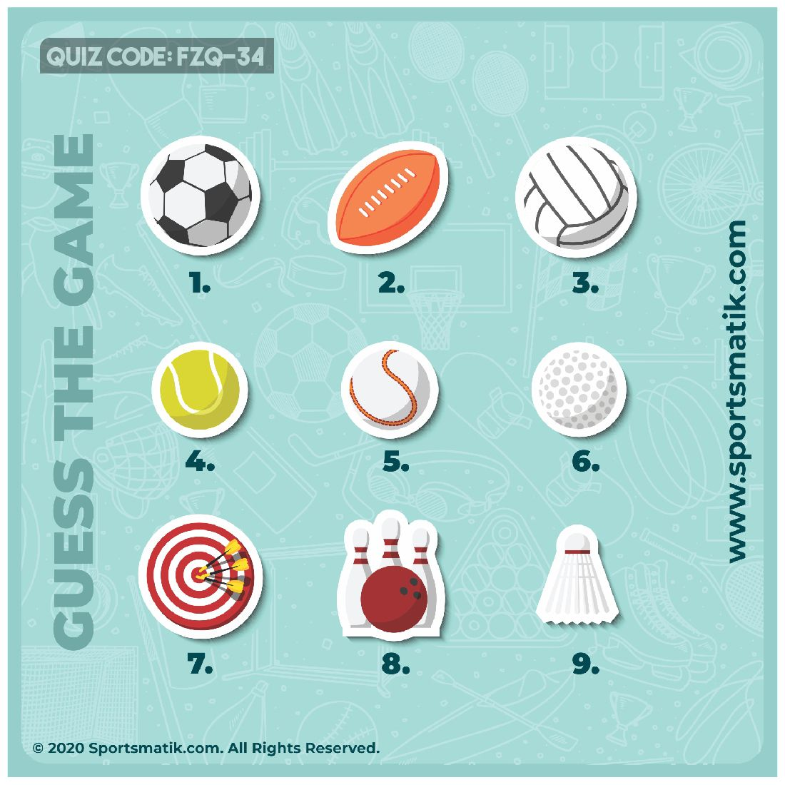 Pin On Sports Quiz