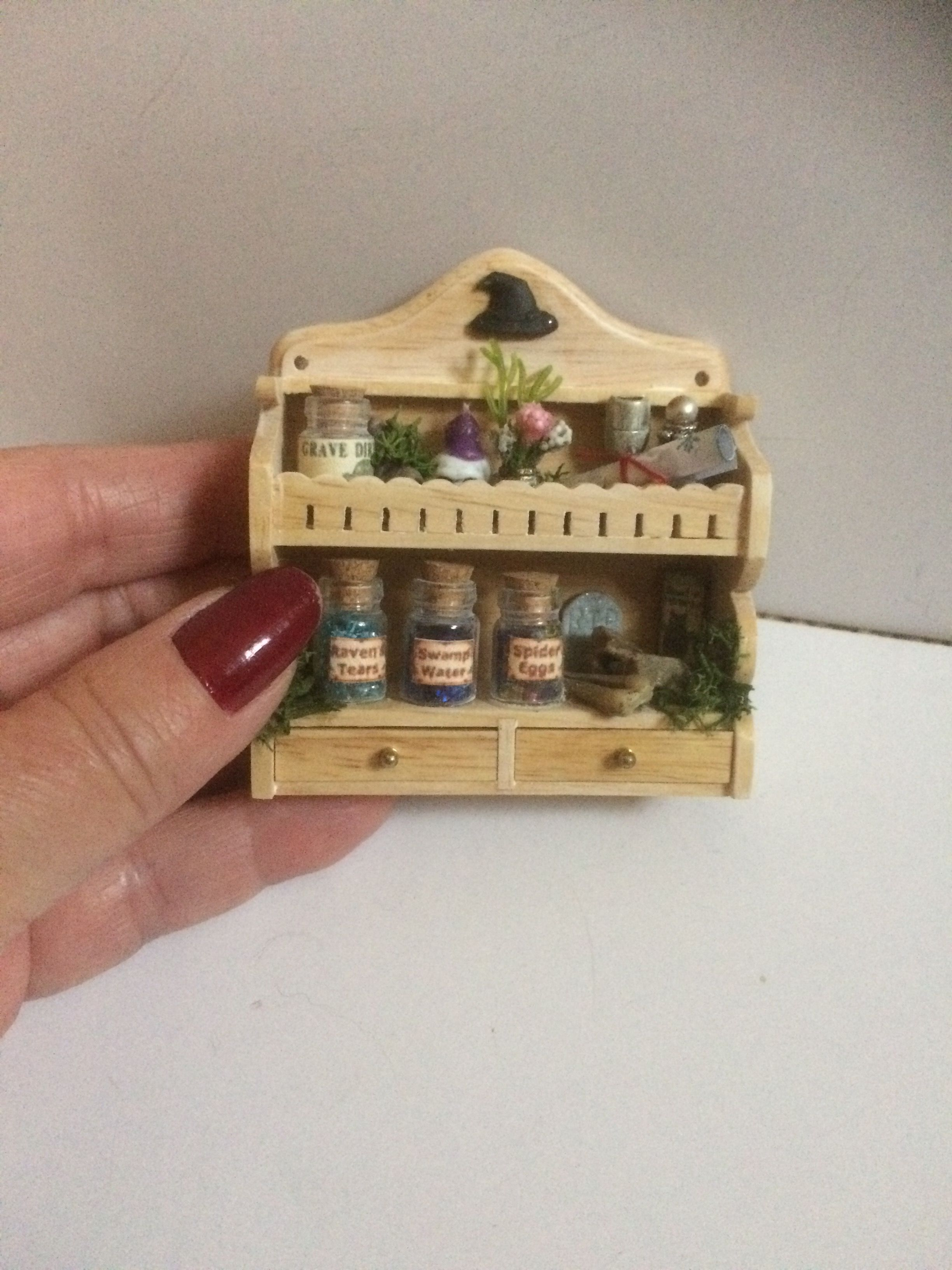 Witch Shelf Unit Newly Listed In My Etsy Shop