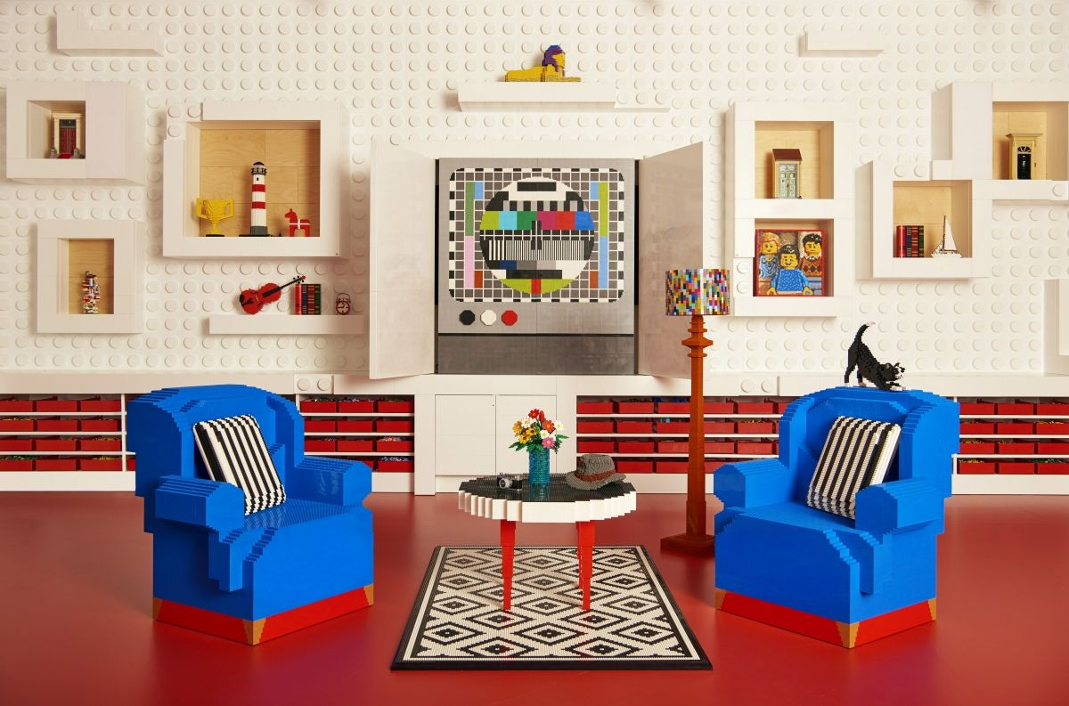 For One Night Only The Newly Opened Lego House In Billund  # Muebles Pitarch