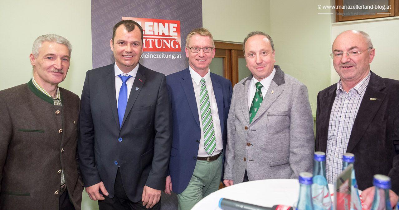 Einige Eindrücke von der Kleine Zeitung Podiumsdiskussion zur Gemeinderatswahl 2015 in Mariazell.