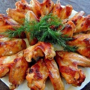 Куриные крылышки в медово-соевом соусе с чесноком | Рецепт ...