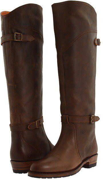Joanna's Brown Leather Riding Boots