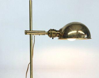 Lampe en laiton lampe omi koch et lowy vintage lampes lampe de
