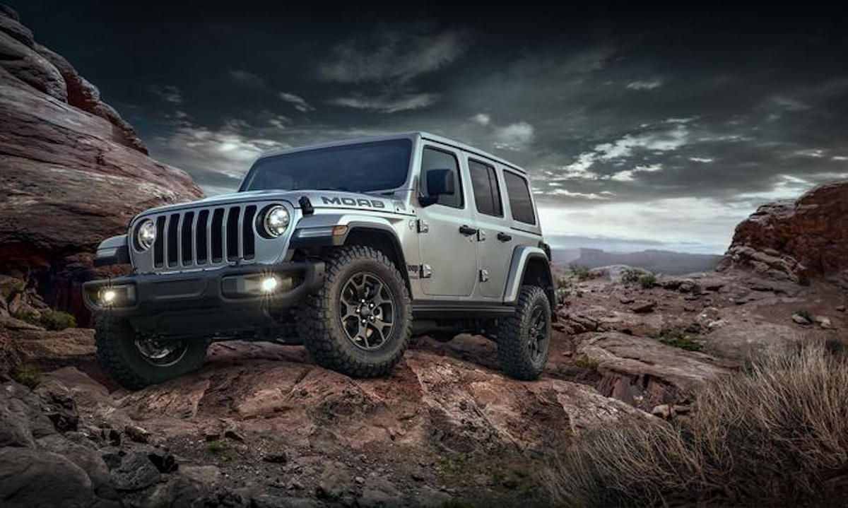 Jeep Unveils The First Limited Edition 2018 Wrangler With The Moab Edition Jeep Wrangler Jeep Wrangler Unlimited Jeep