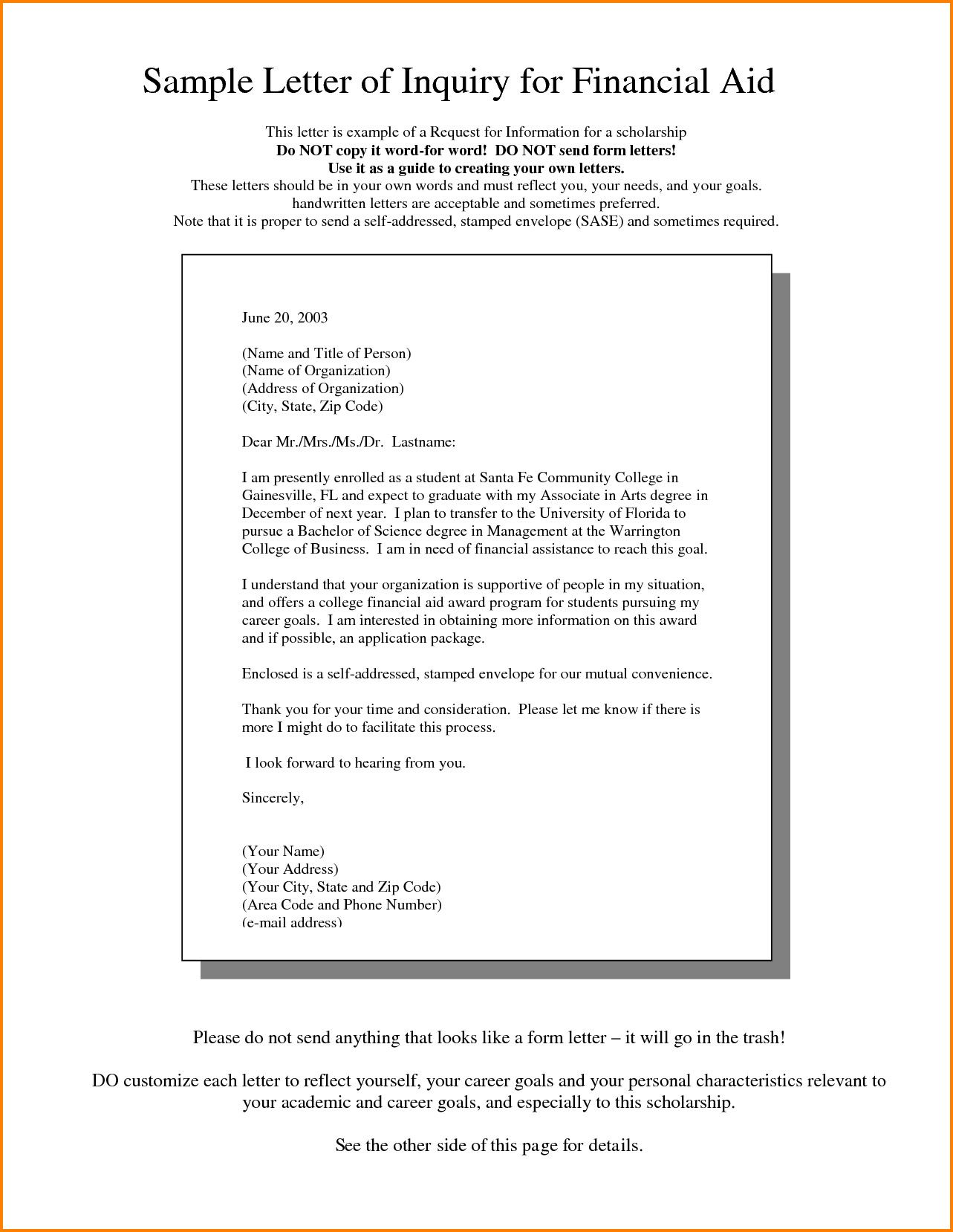 Letter Of Financial Support Sample Best Of 8 How to Write