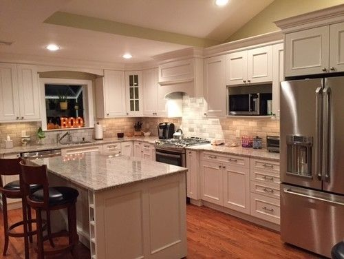 Split Level Kitchen Renovation Before And After With Split Level Kitchen Remodel Cheap Kitchen Remodel Affordable Kitchen Remodeling Kitchen Remodel Cost