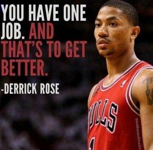 Derrick rose quote basketball inspiration pinterest derrick rose quote voltagebd Gallery
