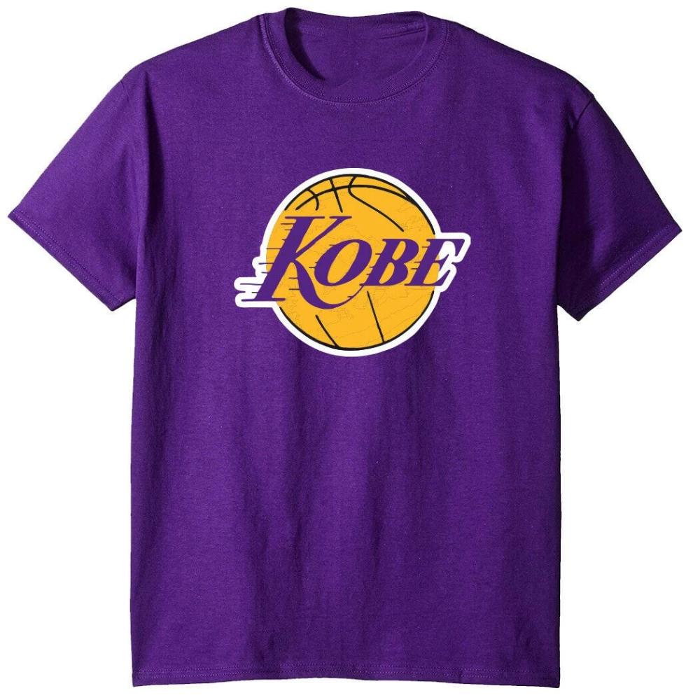 Official Kobe Bryant Los Angeles Lakers Black Mamba Logo T