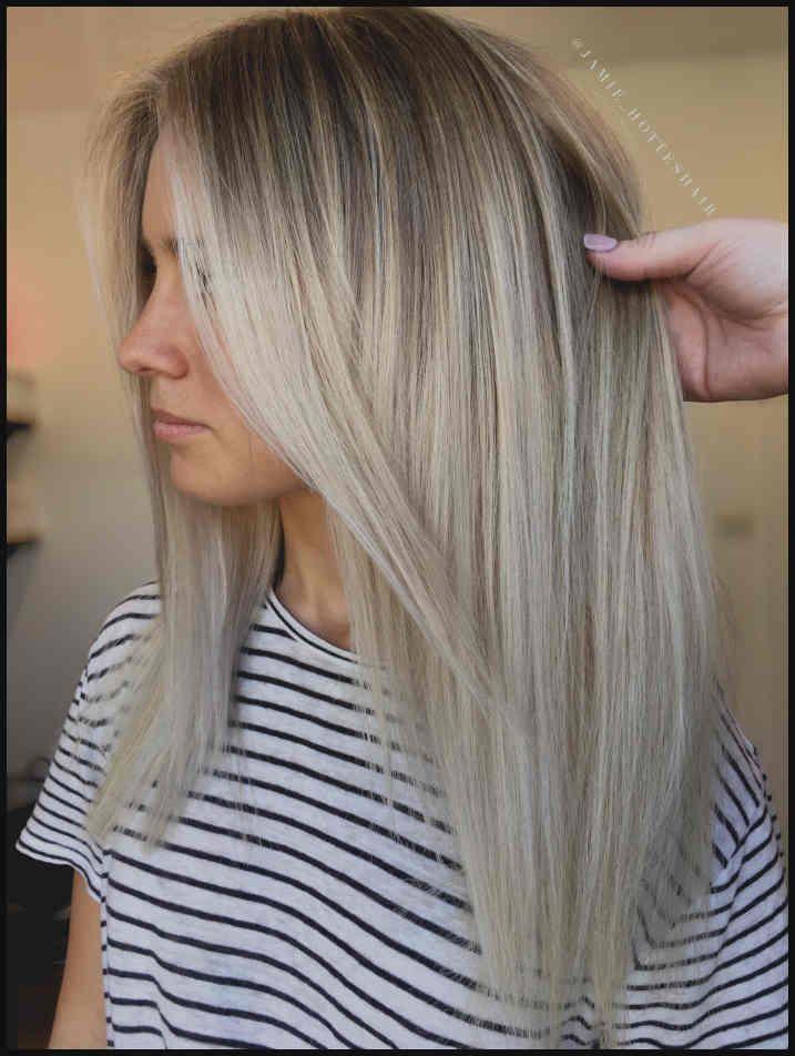 Total Attraktive Blonde Lange Frisuren Einfache Frisuren