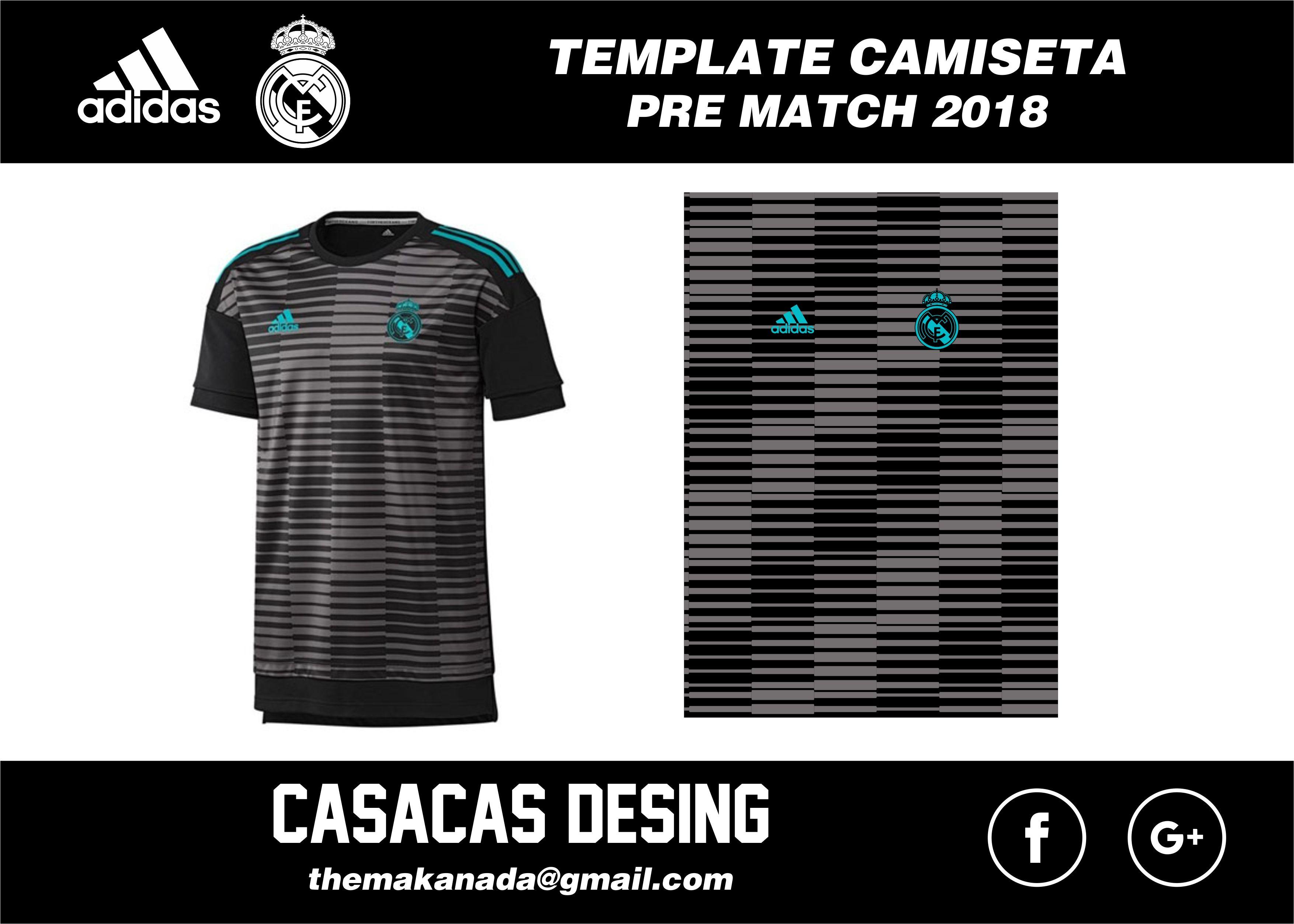 4ac89c23108e0 CAMISETA ENTRENAMIENTO REAL MADRID 2018 Uniformes De Futbol
