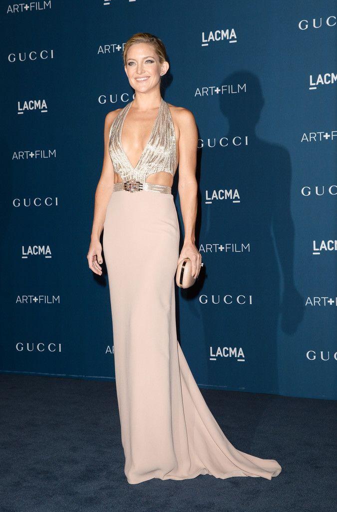 Kate Hudson. She looks insane. Gucci gown.