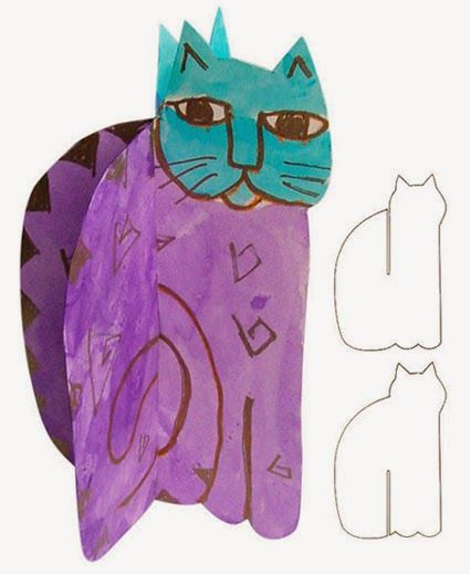 Art Projects for Kids: Laurel Birch Cat