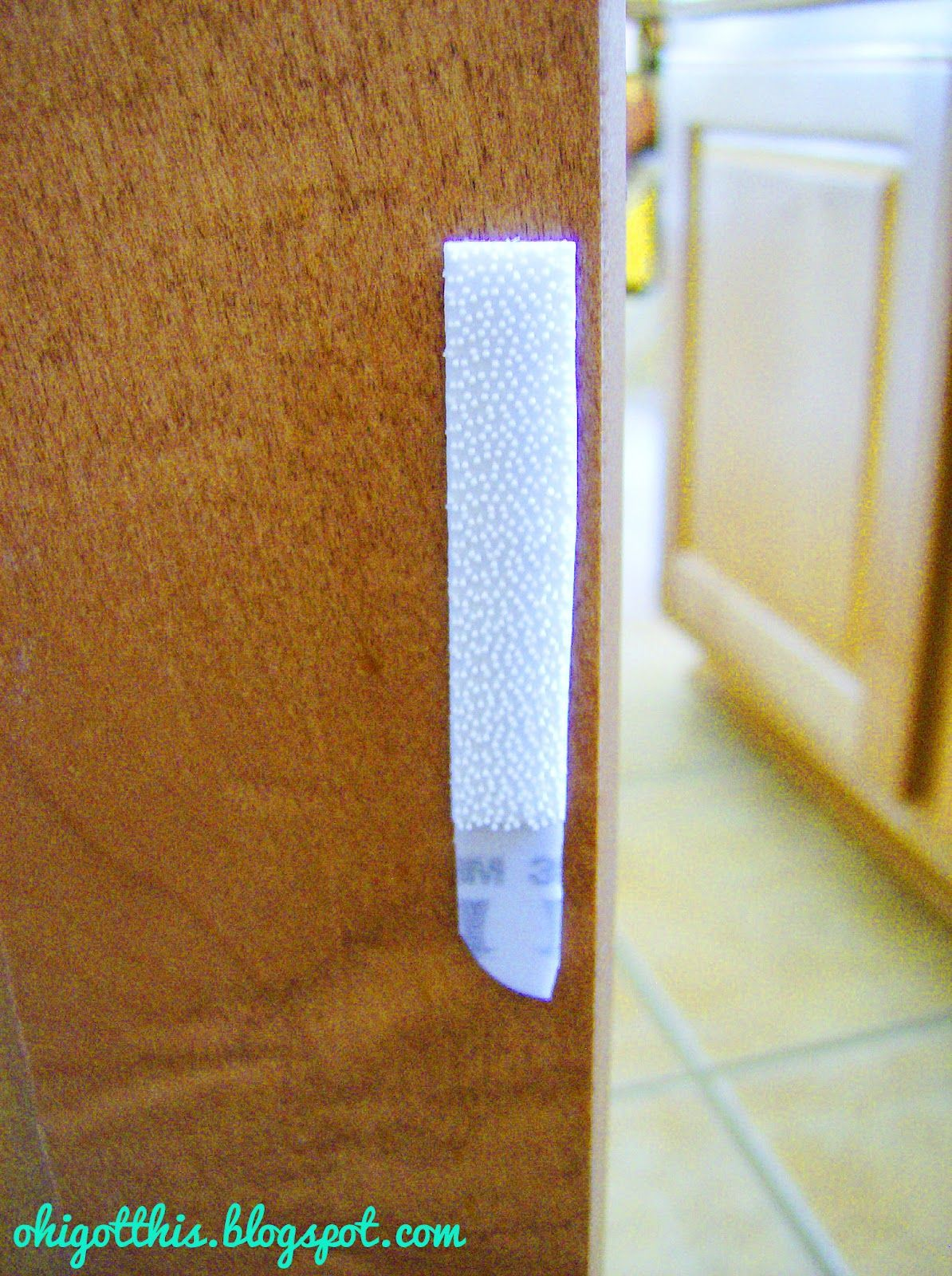 Velcro Cabinet Doors Less Annoying And More Baby Proofing