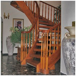 Best All Wood Staircases Spiral Staircase 400 x 300