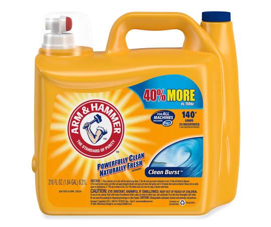 Arm Hammer Clean Burst Detergent 210 Fl Oz Jug En 2020